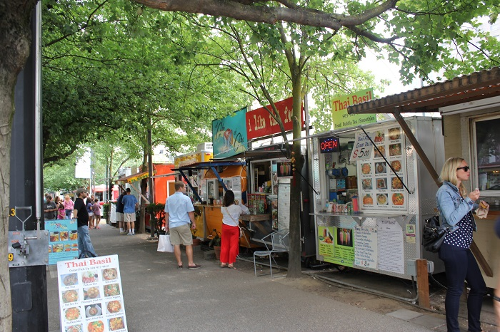 Food Trucks Portland Division